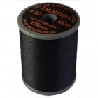 Brother satin finish embroidery thread. 300m spool BLACK 900