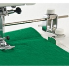 Example of the Cover Pro Adjustable Seam Guide Being Used
