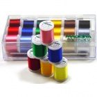 Maderia Rayon Thread Sampler Set of 18 threads
