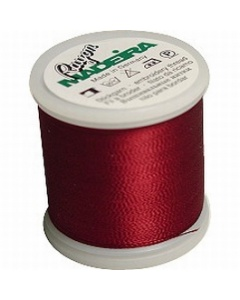 Madeira Machine Embroidery Rayon 200m Thread - 1181 Bayberry Red