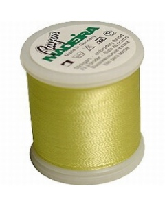 Madeira Machine Embroidery Rayon Thread - 1023 Lemon Yellow