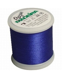 Madeira Machine Embroidery Rayon 200m Thread - 1166 Bright Navy Blue
