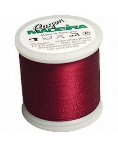Madeira Machine Embroidery Rayon 200m Thread -Wine 1035