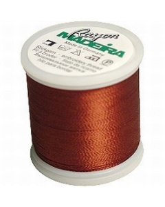 Madeira Embroidery Rayon Thread - 1158 Tawny Brown