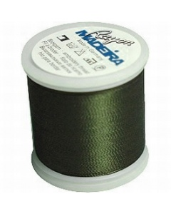 Madeira Machine Embroidery Rayon 200m Thread - Dark Khaki 1393