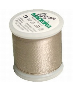 Madeira Embroidery Rayon Thread - 1060 Light Putty