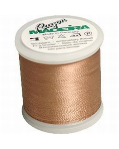 Madeira Embroidery Rayon Thread - 1054 Medium Dark Ecru