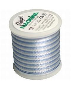 Madeira Variegated Rayon Thread 200m - 2016 Pastel Blues