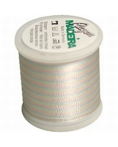 Madeira Multi Rayon Thread 200m - 2101 Baby Blue/ Pink/ Mint