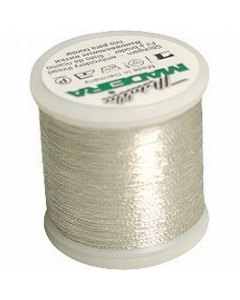 Madeira Metallic Thread 200m Silver