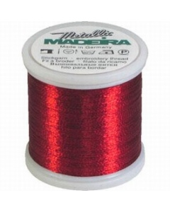 Madeira Metallic Thread 200m 315 Ruby