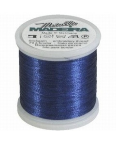 Madeira Metallic Thread 200m 338 Cobalt