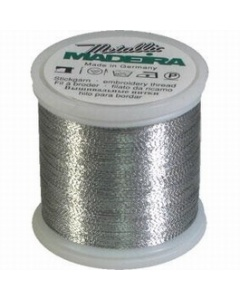 Madeira Metallic Thread 200m - Aluminium