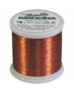 Madeira Metallic Thread 1000m Copper
