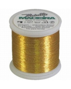 Madeira Metallic Thread 200m Gold 7