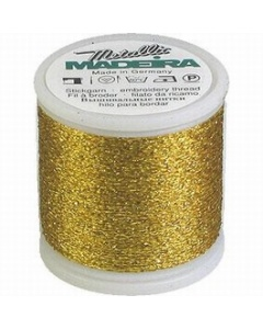Madeira Metallic Supertwist 200m - 25 Gold