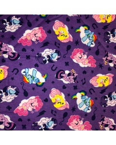 My Little Pony Brushed Cotton Fabric