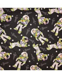 Buzz Lightyear Grey Fabric