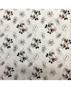 Disney's Mickey Mouse Speech Bubble Fabric