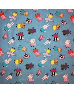 Peppa Pig and Friends Fabric