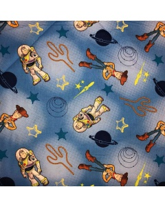 Buzz Lightyear and Woody Fabric