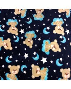 Blue Baby Bear Fleece