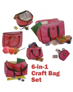 6in1 craft bag set