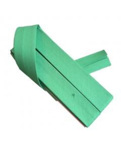 20 mm Green Bias Binding Tape Fine Polycotton Weave 3.5M Card