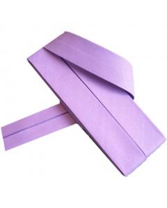 20 mm Lavender Bias Binding Tape Fine Polycotton Weave 3.5M Card