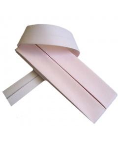 20 mm Pale Rose Bias Binding Tape Fine Polycotton Weave 3.5M Card