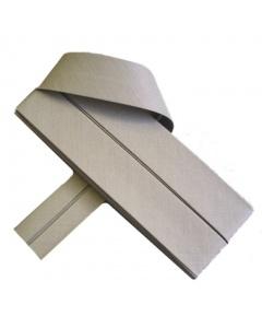 20 mm Khaki Bias Binding Tape Fine Polycotton Weave 3.5M Card