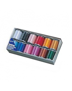 12 Box of Brother embroidery threads