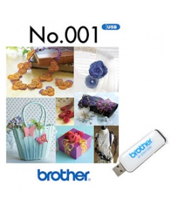 Brother USB Memory Stick No.001 3D Combination Motifs