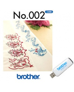 Brother USB Memory Stick No.002 Oriental Border Pattern