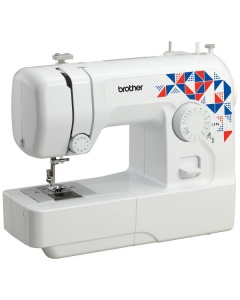 Brother L14s - Light and very easy to us. Not many (if any) machines at this price have a top drop in bobbin!