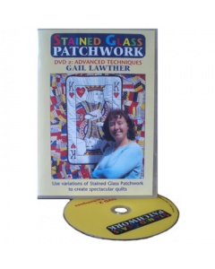 Advanced Stained Glass Patchwork DVD