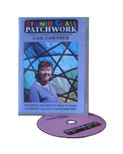 Basic Stained Glass Patchwork DVD