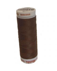 Mettler Cotton Quilting Thread - 0712 Dark Mocha Brown