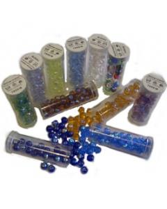 Transparent Rainbow Beads