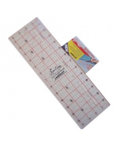 "14"" x 4.5"" Patchwork Ruler with Marking Grooves"