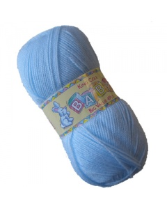 King Cole 4 ply 100g Baby Wool Blue