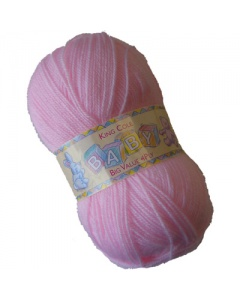 King Cole 4 ply 100g Baby Wool Pink