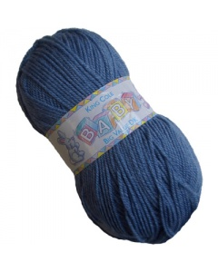 King Cole DK 100g baby wool Denim