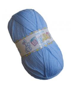 King Cole DK 100g baby wool Blue