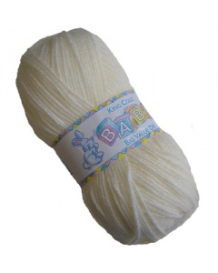 King Cole DK 100g Baby Wool Cream
