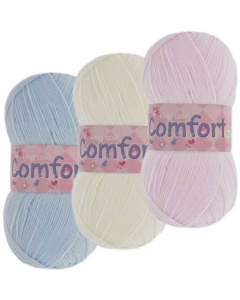 king Cole Comfort 3ply 100g wool