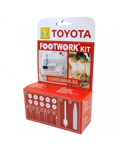 Toyota Footwork Consumables