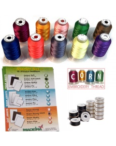 Including the basics for starter sewing to get gstitching quickly with a new embroidery machine