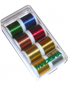 Madeira Classic Metallic Thread Box 8 x 200m spools