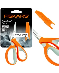 RazorEdge Scissors Soft grip with protective sheath